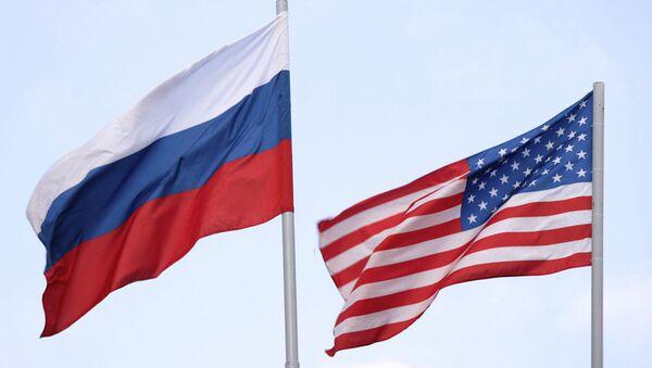 Россия и США. Флаги - Sputnik Армения