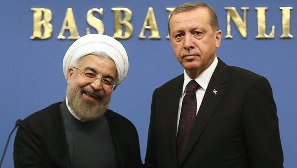 Роухани и Эрдоган - Sputnik Армения