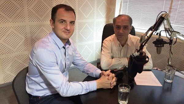 Վահրամ Տեր-Մաթևոսյան և Արտակ Մուրադյան - Sputnik Արմենիա