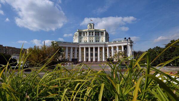 Центральный академический театр Советской Армии, созданный по проекту Алабяна - Sputnik Армения