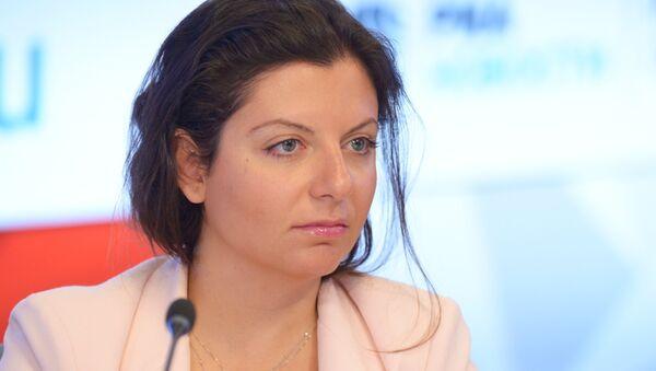 Главный редактор телеканала RT и МИА Россия сегодня Маргарита Симоньян - Sputnik Армения