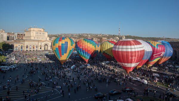 Эребуни-Ереван 2799. Международный фестиваль воздушных шаров - Sputnik Արմենիա