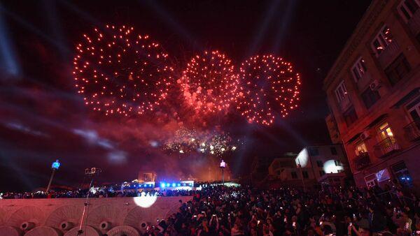 Салют в честь праздника Эребуни-Ереван 2799 - Sputnik Արմենիա