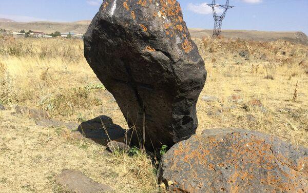 Մենհիր.նախնադարյան համայնական դարաշրջանի պաշտամունքային հուշակոթող. Բանդիվան - Sputnik Արմենիա