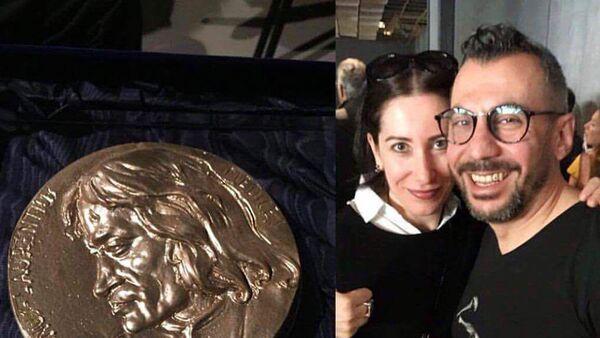 Нур Шадоян выиграл золото Биеннале во Флоренции - Sputnik Армения
