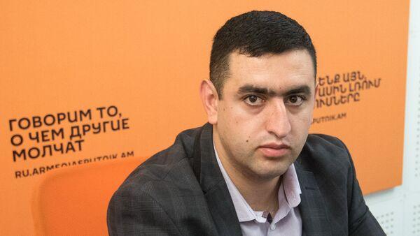 Артем Тоноян - Sputnik Արմենիա