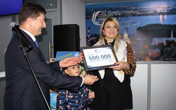 «Վորոնեժ» միջազգային օդանավակայանի 500.000-րդ ուղևորը Հայաստանի քաղաքացի Զարուհի Հակոբյանն է - Sputnik Արմենիա