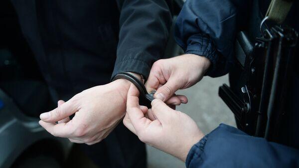 Работа вневедомственной охраны московской полиции - Sputnik Армения