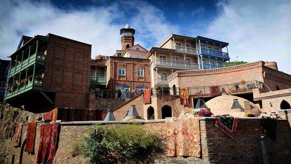 Исторические дома в Тбилиси в день Тбилисоба 2016 - Sputnik Армения