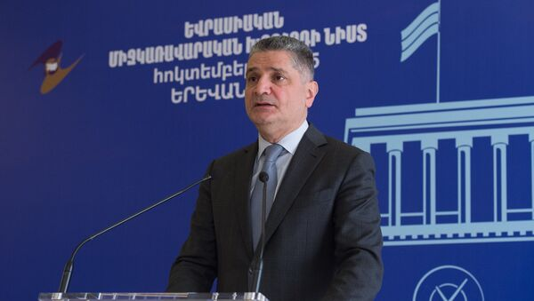 Евразийский межправительственный совет. Тигран Саркисян - Sputnik Արմենիա