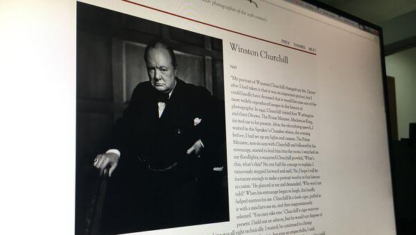 Фотография Уинстона Черчилля, сделанная Юсуфом Каршем - Sputnik Արմենիա