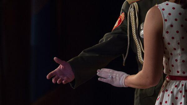 Ансамбль песни и пляски Российской армии имени А. В. Александрова выступил в Ереване - Sputnik Արմենիա