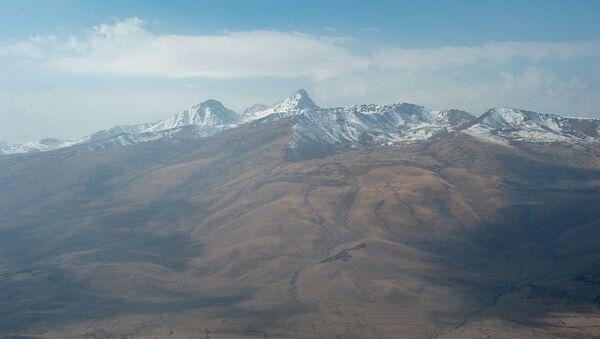 Гора Арагац, Армения - Sputnik Արմենիա