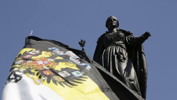 Открытие памятника Екатерине II в Симферополе - Sputnik Արմենիա