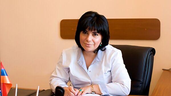 Директор ЗАО Скорая помощь Тагуи Степанян - Sputnik Արմենիա