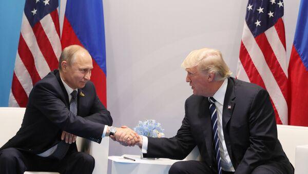 Президент РФ В. Путин принимает участие в саммите Группы двадцати в Гамбурге - Sputnik Արմենիա