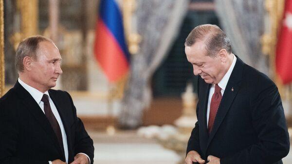 Визит президента РФ В. Путина в Турцию - Sputnik Армения