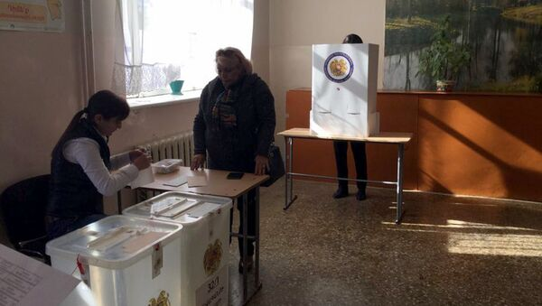 местные выборы - Sputnik Արմենիա