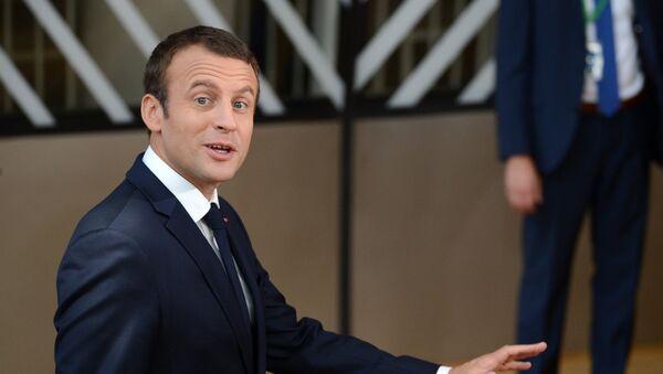 Президент Франции Эммануэль Макрон - Sputnik Армения