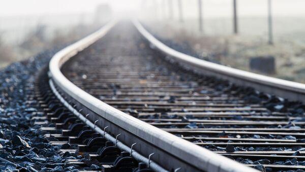 Рельсы железной дороги - Sputnik Армения