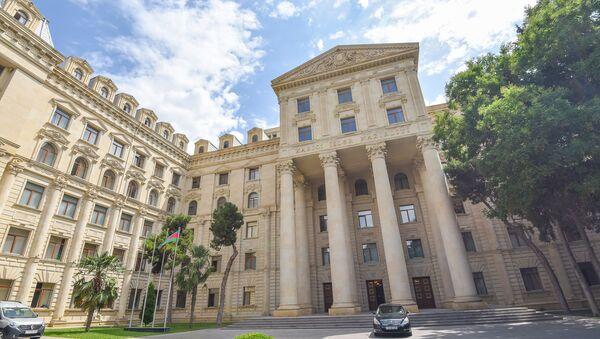 Здание Министерства иностранных дел Азербайджанской Республики в Баку - Sputnik Արմենիա