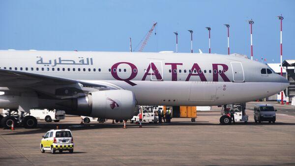 Самолет авиакомпании Qatar Airways - Sputnik Արմենիա