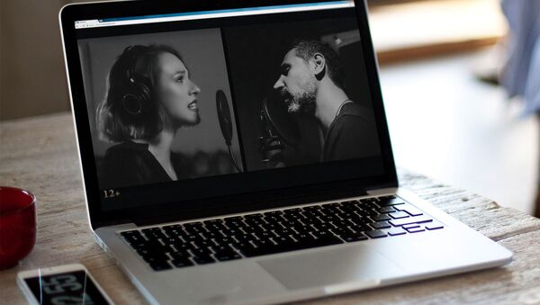 Кадр из клипа Сержа Танкяна и Кати Иванчиковой - Sputnik Արմենիա