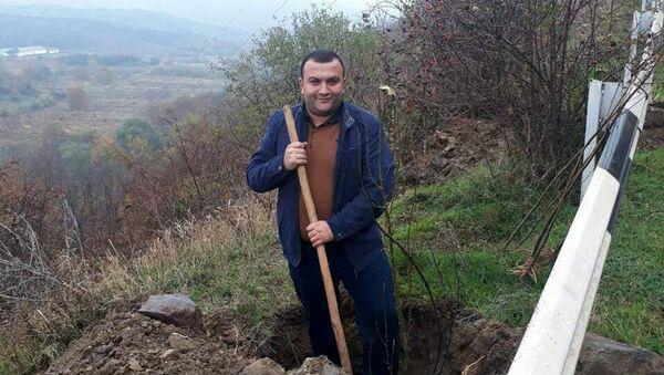 Глава общины Баганис Нарек Саакян - Sputnik Արմենիա