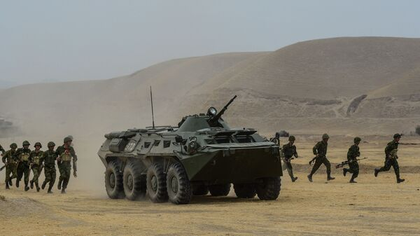 Учения ОДКБ в Таджикистане - Sputnik Армения