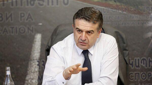 Премьер-министр РА Карен Карапетян - Sputnik Армения