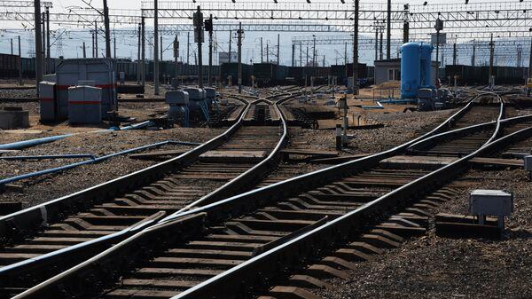 Крупнейшая припортовая ж/д станция Дальневосточной железной дороги Находка - Восточная - Sputnik Армения
