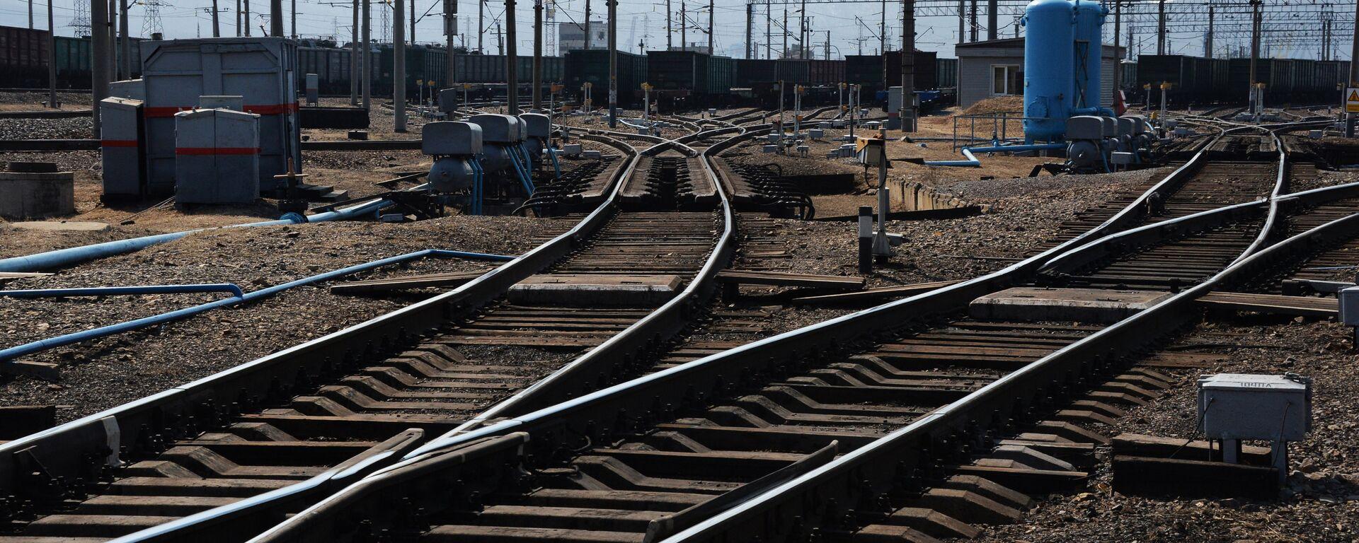 Крупнейшая припортовая ж/д станция Дальневосточной железной дороги Находка - Восточная - Sputnik Армения, 1920, 30.05.2021