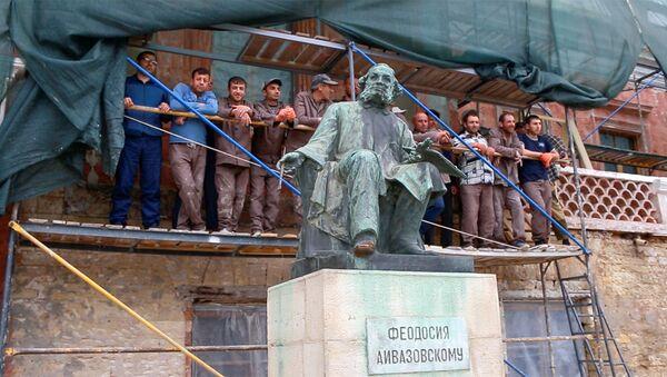 Почему могилу Айвазовского пришлось восстанавливать армянам - Sputnik Армения