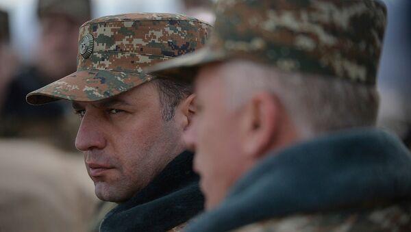 Министр Обороны РА Виген Саргсян - Sputnik Արմենիա