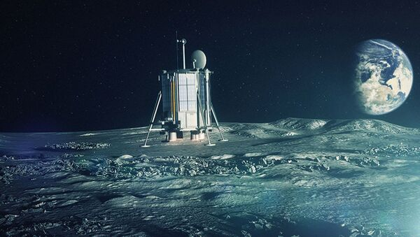 Полет на луну - Sputnik Արմենիա