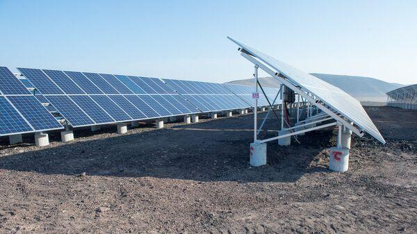 Станция в один МВт запущена в селе Шеник Армавирской области. - Sputnik Արմենիա