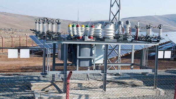Станция в один МВт запущена в селе Шеник Армавирской области. - Sputnik Армения