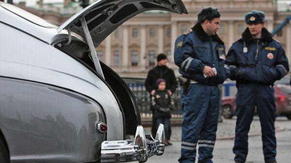 Полицейские в Санкт-Петербурге - Sputnik Արմենիա