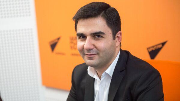 Руководитель департамента оценки риска пищевых цепей Центра эколого-ноосферных исследований Национальной академии наук Армении Давид Пипоян - Sputnik Արմենիա