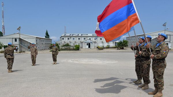 Армянский миротворческий контингент в Ливане - Sputnik Արմենիա