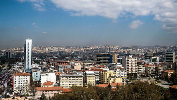 Вид на город Анкара - Sputnik Армения