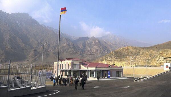 Свободная экономическая зона Мегри открылась в Армении на границе с Ираном - Sputnik Արմենիա