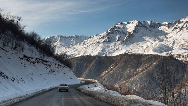Трасса Ереван-Мегри - Sputnik Армения