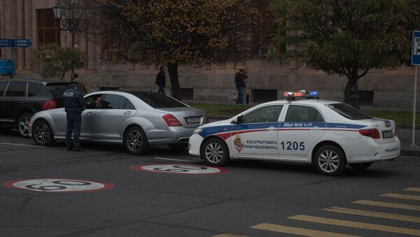 Машина дорожной полиции - Sputnik Армения