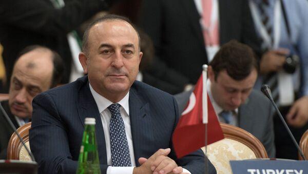 Глава МИД Турции Мевлют Чавушоглу - Sputnik Армения