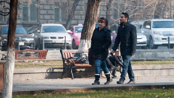Парк в Ереване - Sputnik Արմենիա