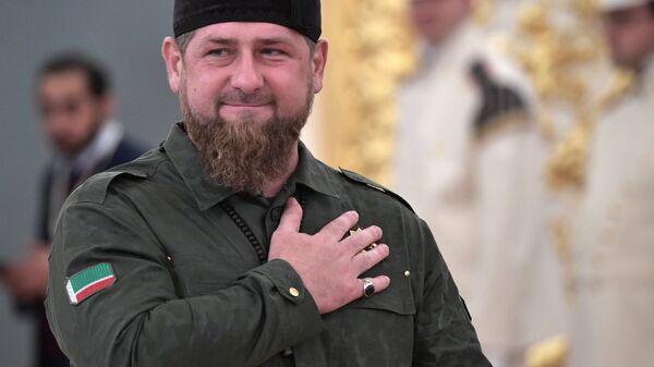 Глава Чеченской Республики Рамзан Кадыров - Sputnik Армения
