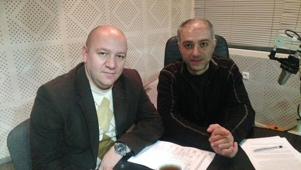 Վիլեն Խաչատրյան և Արտակ Մուրադյան - Sputnik Արմենիա