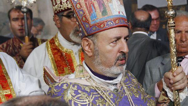 Бывший местоблюститель константинопольского патриарха ААЦ Арам Атешян - Sputnik Армения