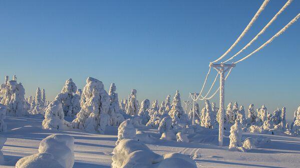 Ձմեռային տեսարան. Լապլանդիա - Sputnik Արմենիա